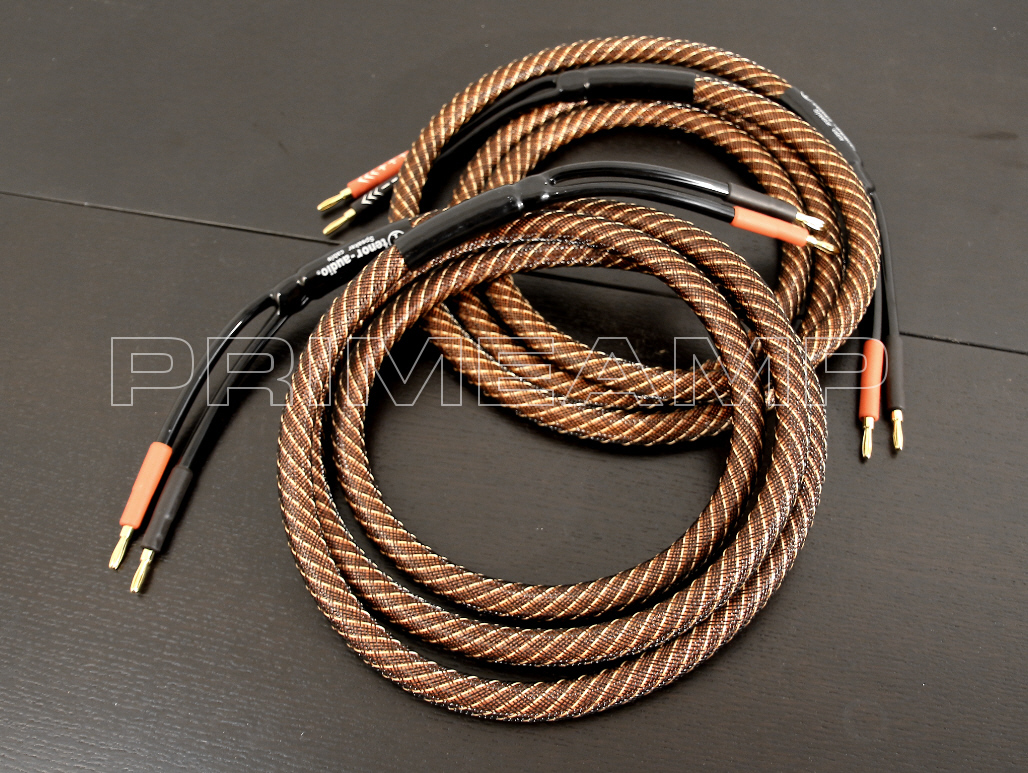 Tenor Audio Golden Plated Audiophile Hi End Banana Speaker Cable Wiring Pair 24m 8ft