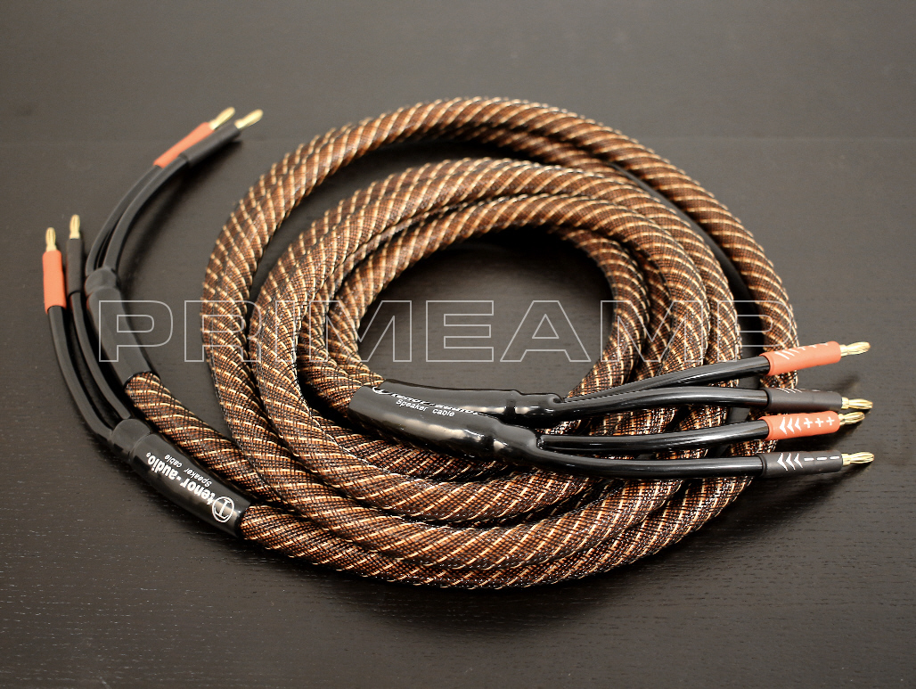 TENOR-AUDIO Golden Plated Audiophile Hi-end Banana Speaker Cable ...