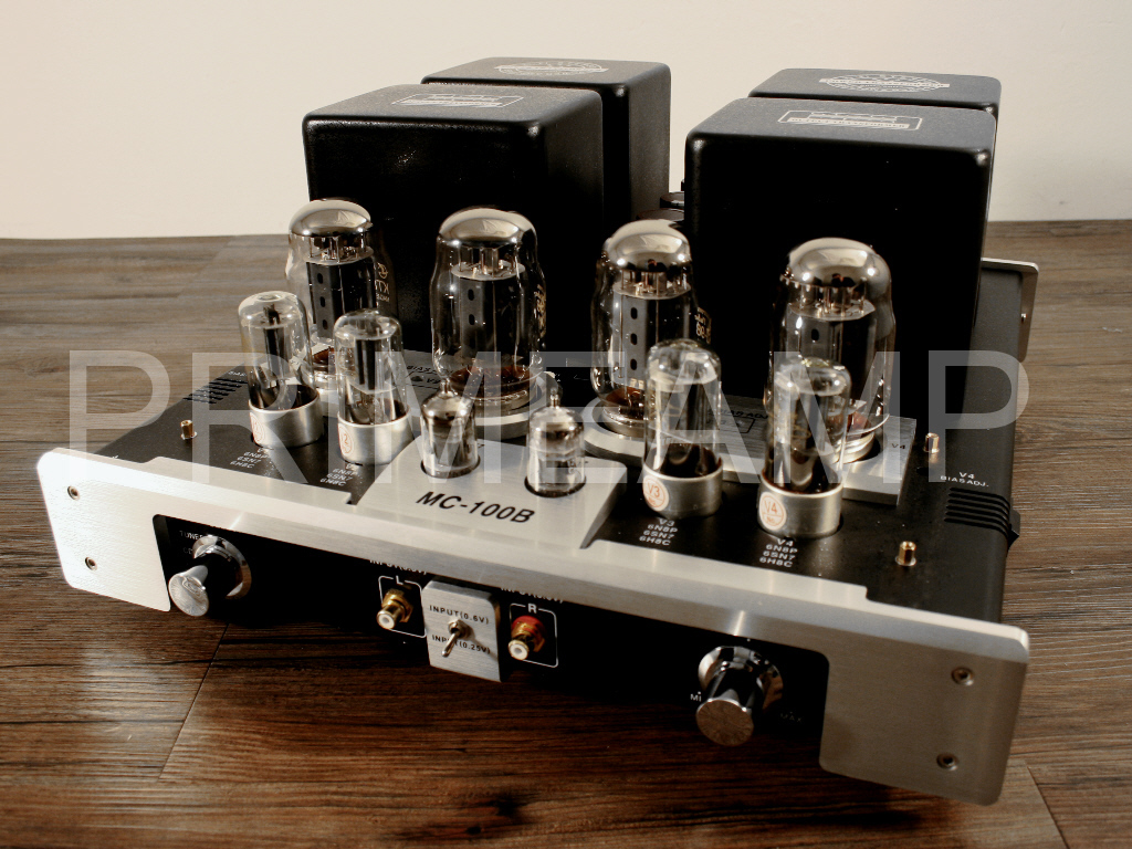 Yaqin Mc 100b Bk Kt88 Vacuum Tube Hi End Integrated Power